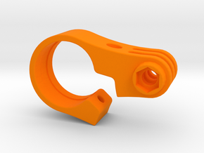 GoPro TT Handlebar Mount - 22.2mm in Orange Processed Versatile Plastic