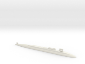Ohio SSBN With Seal Pods, 1/1250 in White Natural Versatile Plastic