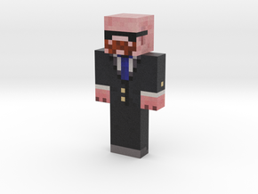 PigWithAMustache Skin WITH STACHE and GOOD SUNGLAS in Natural Full Color Sandstone