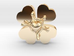LuckyLoveSplash in 14K Yellow Gold