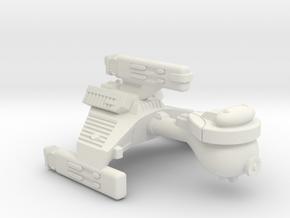 3788 Scale Klingon E6 Battle Escort WEM in White Natural Versatile Plastic
