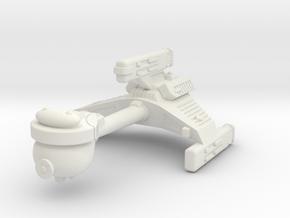 3125 Scale Klingon E6 Battle Escort WEM in White Natural Versatile Plastic