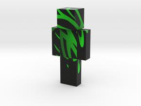 gradient-eagle-black-hi   Minecraft toy in Natural Full Color Sandstone
