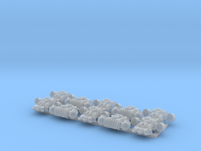 10x Alpha Omega  - G:4 PACs in Smooth Fine Detail Plastic