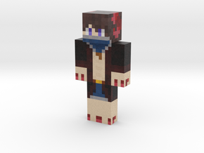 Ty_Rex_Girl | Minecraft toy in Natural Full Color Sandstone
