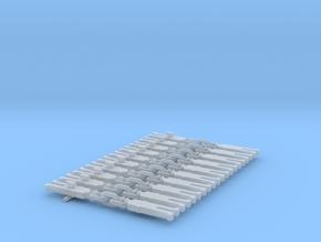 NEM OO Type 3 Couplings - Strait3  Link x10 in Smooth Fine Detail Plastic