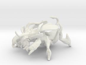 Dota 2 Weaver DnD 1/60 miniature games rpg in White Natural Versatile Plastic