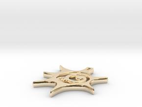 Balance & Positivity Pendant in 14K Yellow Gold