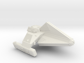 3788 Scale Tholian TK5 Destroyer WEM/SRZ in White Natural Versatile Plastic