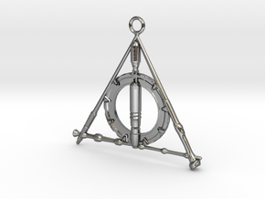 The Fandom Hallows in Polished Silver