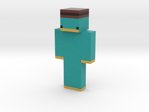 FuriousLeeBear | Minecraft toy in Natural Full Color Sandstone