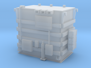 'HO Scale' - Transformer - 11' high in Smooth Fine Detail Plastic
