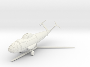 (1:144) Focke Achgelis Fa.336 KH in White Natural Versatile Plastic
