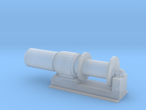 1/25 Scale 36 Inch Electric Winch in Smooth Fine Detail Plastic