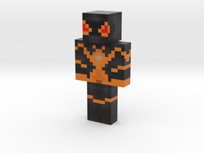 SpiderMan (Custom) | Minecraft toy in Natural Full Color Sandstone