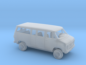 1/160 1978 Chevrolet G Van Split Side Split Rear in Smooth Fine Detail Plastic