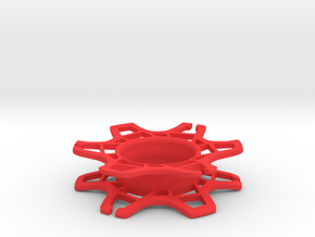 Gear Wrap in Red Processed Versatile Plastic