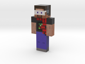 Cool Steve   Minecraft toy in Natural Full Color Sandstone
