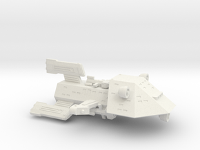 3125 Scale Kzinti Light Gunboat/PF Tender SRZ in White Natural Versatile Plastic