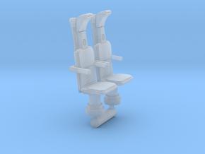 YT1300 FM 1/72 COCKPIT NAVIGATOR SEATS in Smooth Fine Detail Plastic