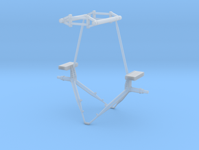 1.32 EC635 MISSILES SUPPORTS in Smooth Fine Detail Plastic