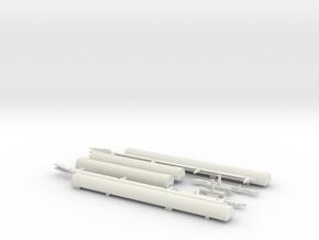 1.32 FLOTTEURS EC FULL KIT in White Natural Versatile Plastic
