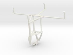 Controller mount for F710 & Raspberry Pi 7 inch di in White Natural Versatile Plastic
