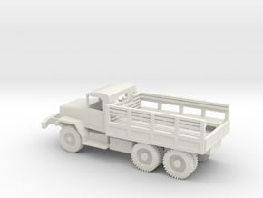 1/72 Scale M35 Troop Truck in White Natural Versatile Plastic
