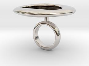 Cratrii - Bjou Designs in Rhodium Plated Brass