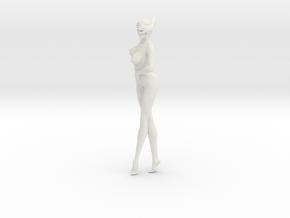 Printle N Femme 124 - 1/24 - wob in White Natural Versatile Plastic