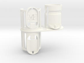 For Dyson V6 Wall Adapter & DC35/44/59 etc. in White Processed Versatile Plastic