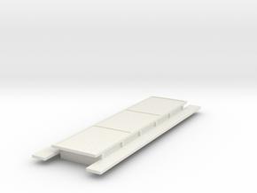 Motorpost dak opbouw in White Natural Versatile Plastic