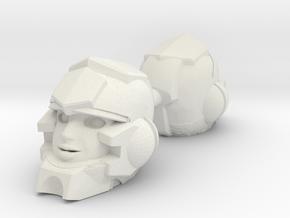 Verity Carlo Head for PotP Moonracer + more in White Natural Versatile Plastic