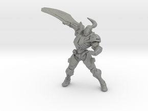 Metroid Weavel 1/60 DnD miniature for games rpg in Gray PA12