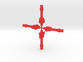 Repto Blaster in Red Processed Versatile Plastic: Large