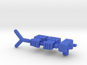Seeker Fists 5mm in Blue Processed Versatile Plastic