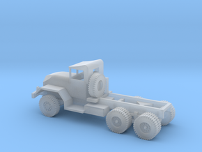 1/110 Scale M58 5 ton 6x6 Chassis in Smooth Fine Detail Plastic