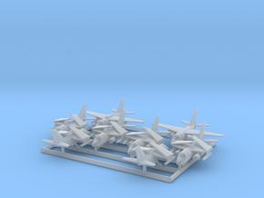 S-3A & ES-3A w/Gear x8 (FUD) in Smooth Fine Detail Plastic: 1:700