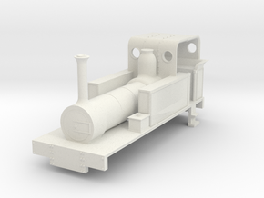 b-re-87-mw-eskdale-loco in White Natural Versatile Plastic