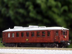 N scale Scandia Railmotor, DSB MBF, OMB MH 1 and m in Smooth Fine Detail Plastic