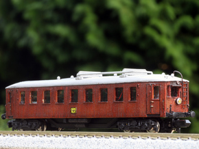 N scale Scandia Railmotor OKMJ Mh 11 in Smooth Fine Detail Plastic
