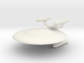 Long Range Science Cruiser in White Natural Versatile Plastic