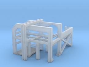 1/144 USN Depth Charge Loader Rack (Port) in Smooth Fine Detail Plastic