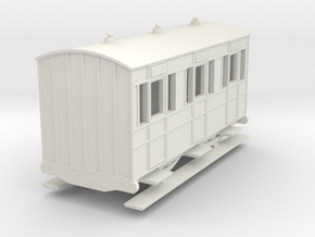 o-re-100-eskdale-1st-class-coach in White Natural Versatile Plastic