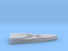 1/600 HMS Barham Hull Aft Waterline Model in Smooth Fine Detail Plastic