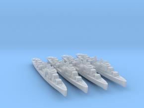 4pk sprue USS Allen M. Sumner 1944 1:2400 WW2 in Smoothest Fine Detail Plastic