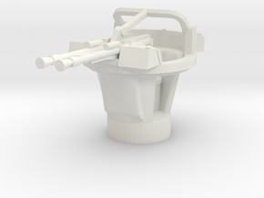 BTR 152 A turret 1/87 in White Natural Versatile Plastic