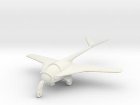 (1:144) Messerschmitt 'Libelle' in White Natural Versatile Plastic