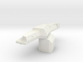 Mack-shell4 Dash RHD in White Strong & Flexible