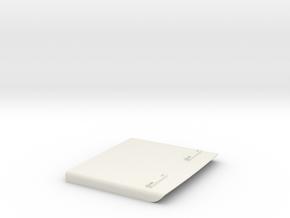 Mack-shell4 Floor in White Natural Versatile Plastic